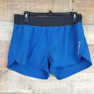 Reebok Running Shorts Womens Size M Blue TH6